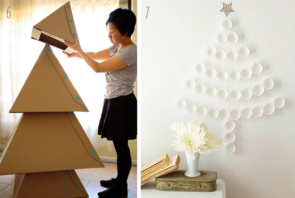 lokalikes diy weihnachtsb ume. Black Bedroom Furniture Sets. Home Design Ideas